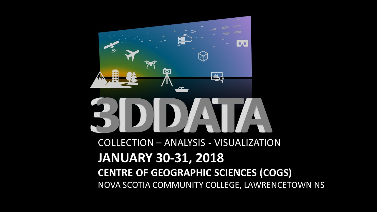 3DData Workshop 2018